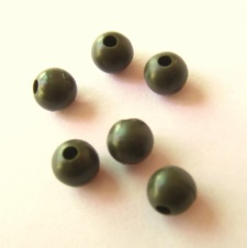 6 mm Tapered Bore Beads