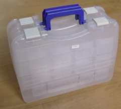 Portable tackle box 2 in 1